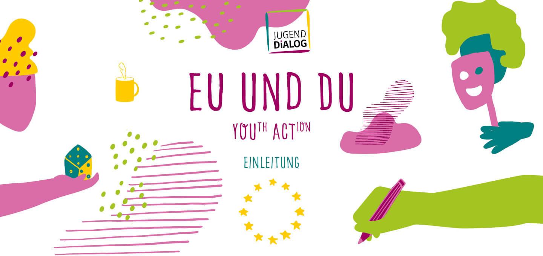 Fine Heininger. Illustration, Berlin, Spiel-Illustration, Deutscher Bundesjugendring, DBJR, EU und Du, YOUth ACTion